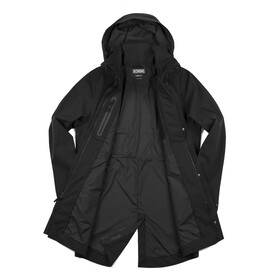 Chrome Stanton Rain Trench Coat Men black
